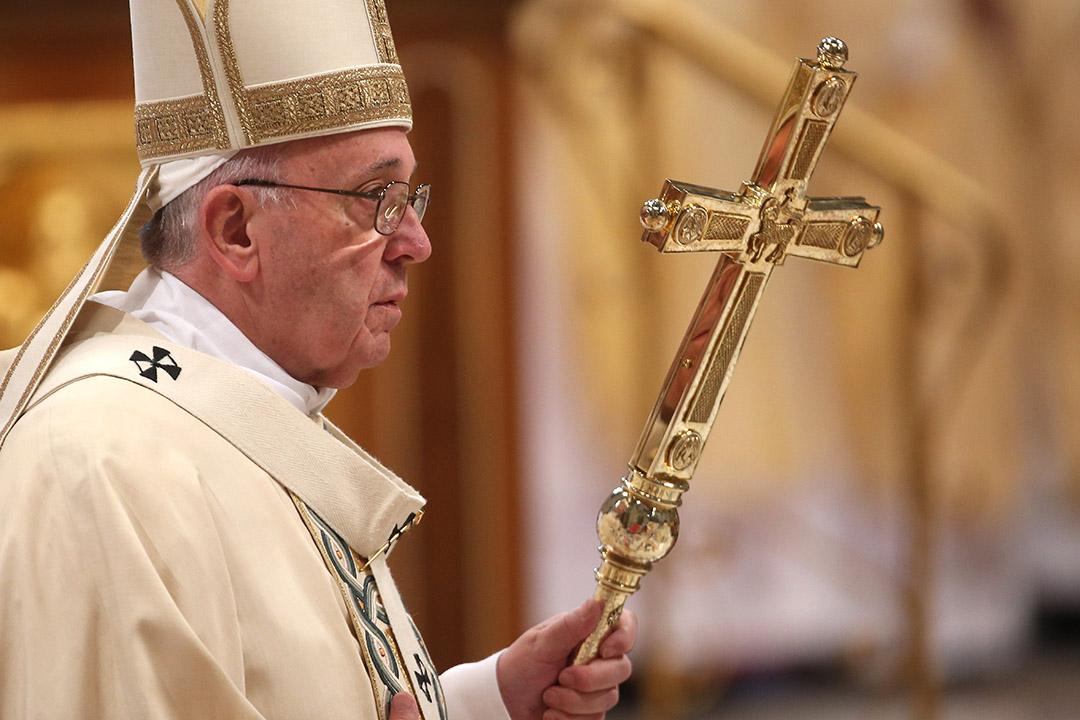 �_�R天主教教宗方��各(Pope Francis)。