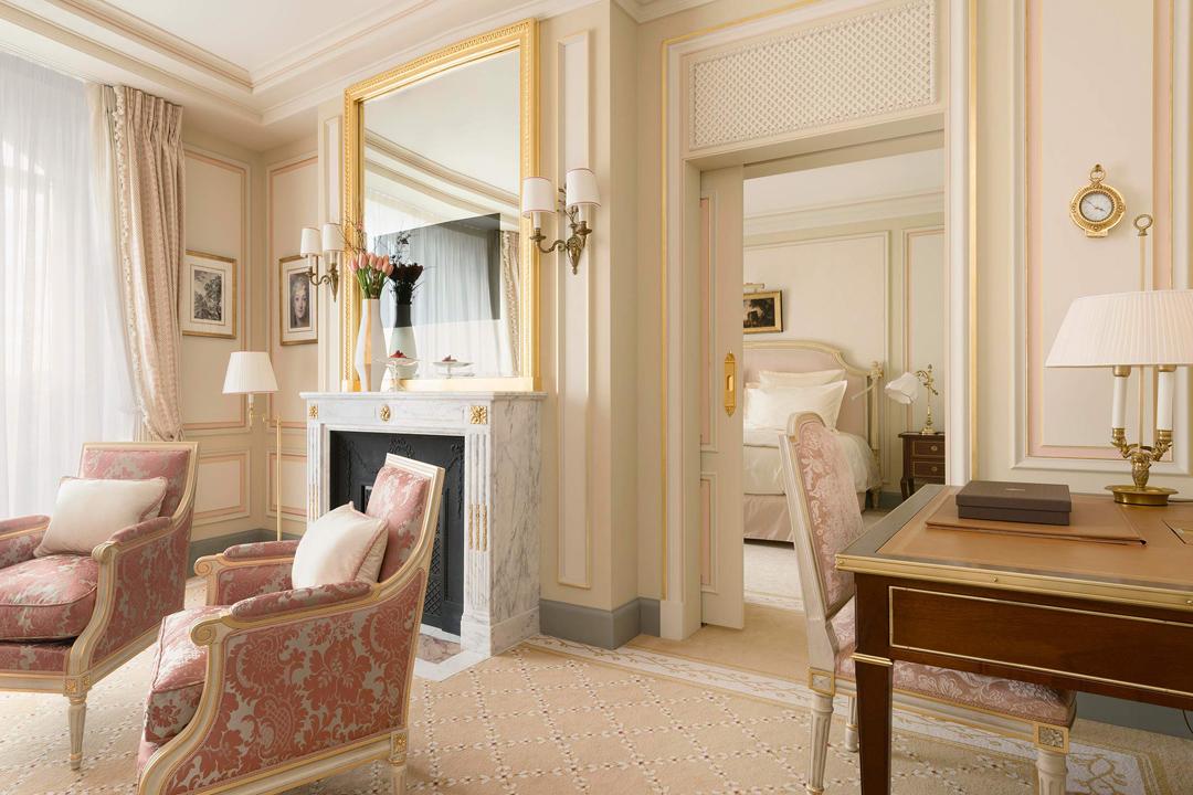 翻新的The Ritz房間內裝。