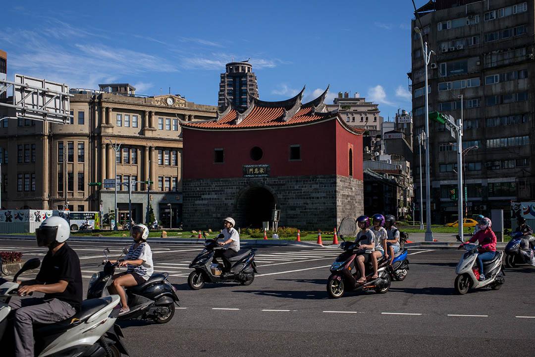 台灣古蹟北門。