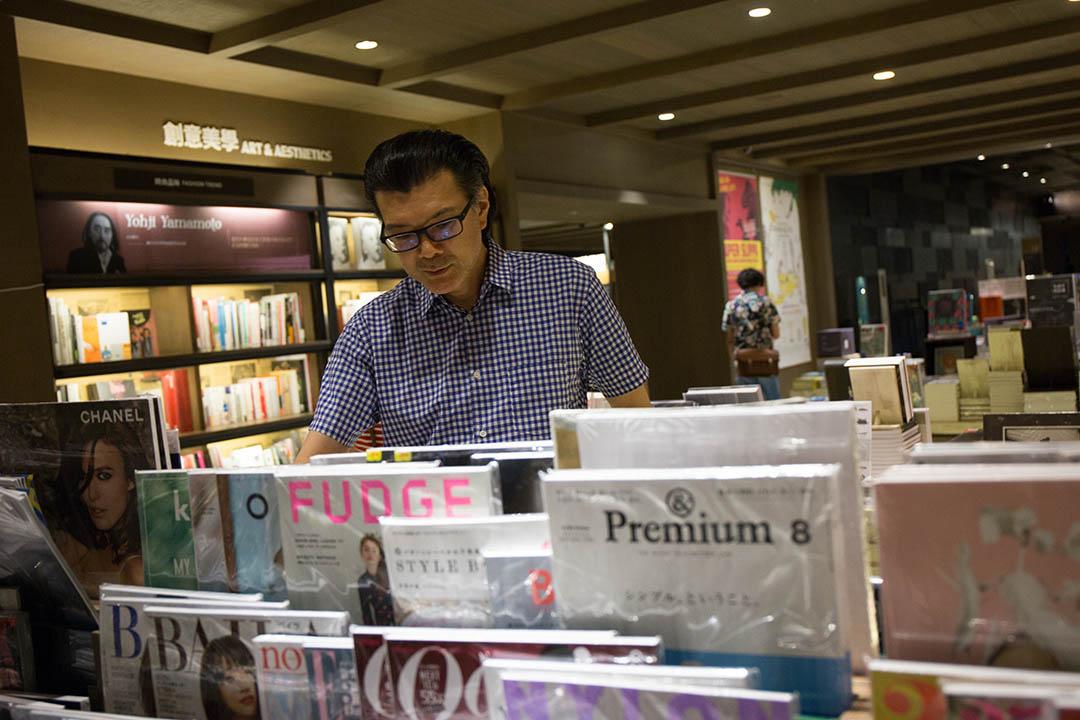 《&Premium》總編-芝崎信明。