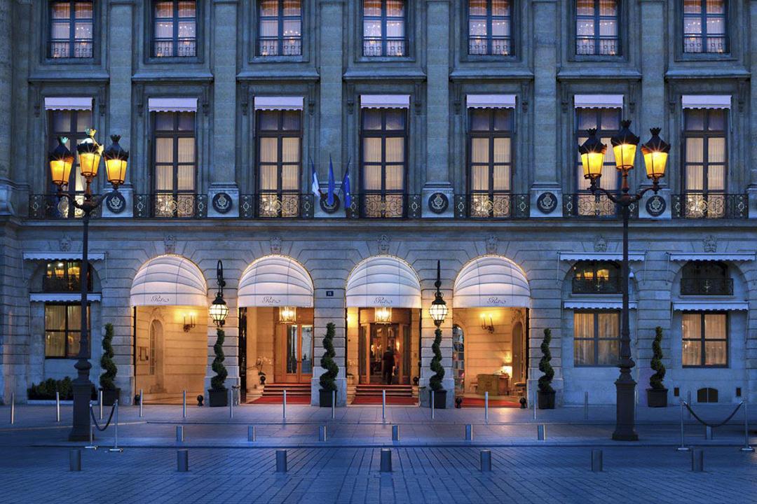 巴黎The Ritz備受一眾歷史名流愛戴。