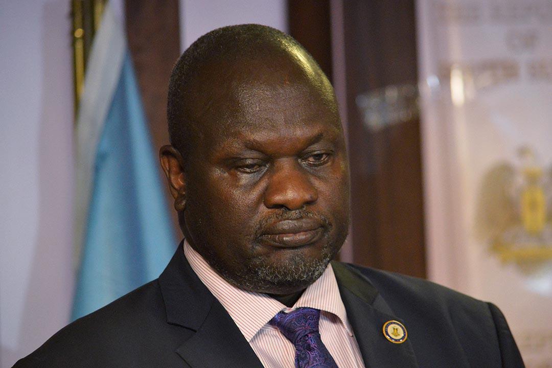 南蘇丹副總統馬查。
