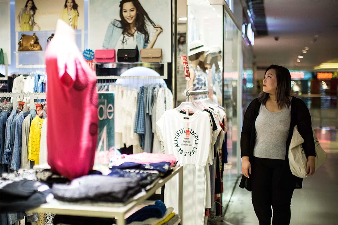 香港大碼時裝品牌「FASHION CORNER」設計師吳詩雅。