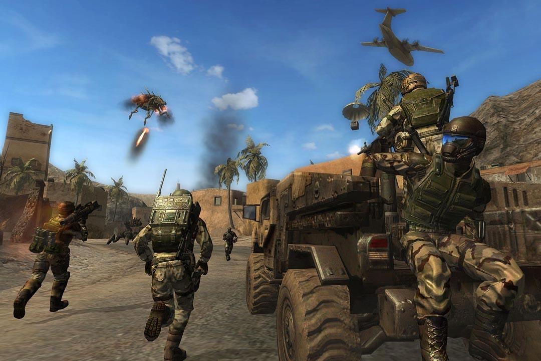 線上遊戲《雷神之戰》。