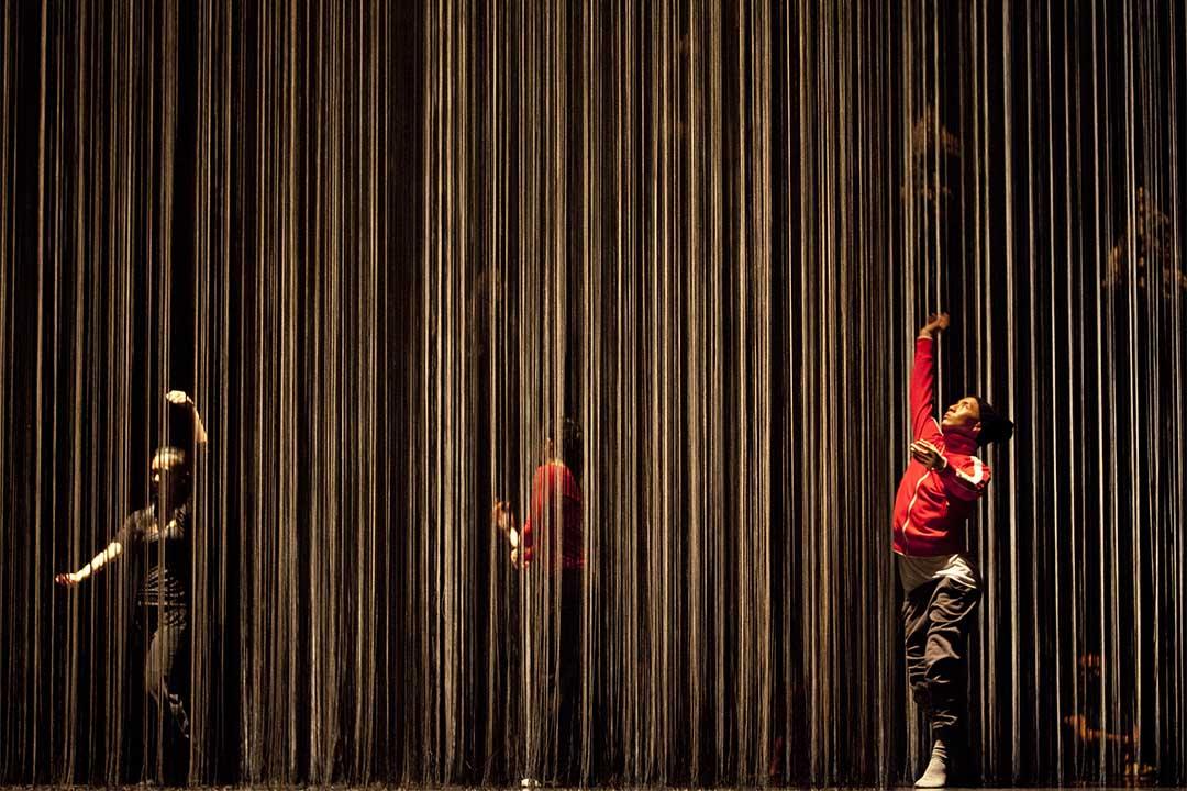 2013年5月10日,一個法國舞蹈團在台北綵排。