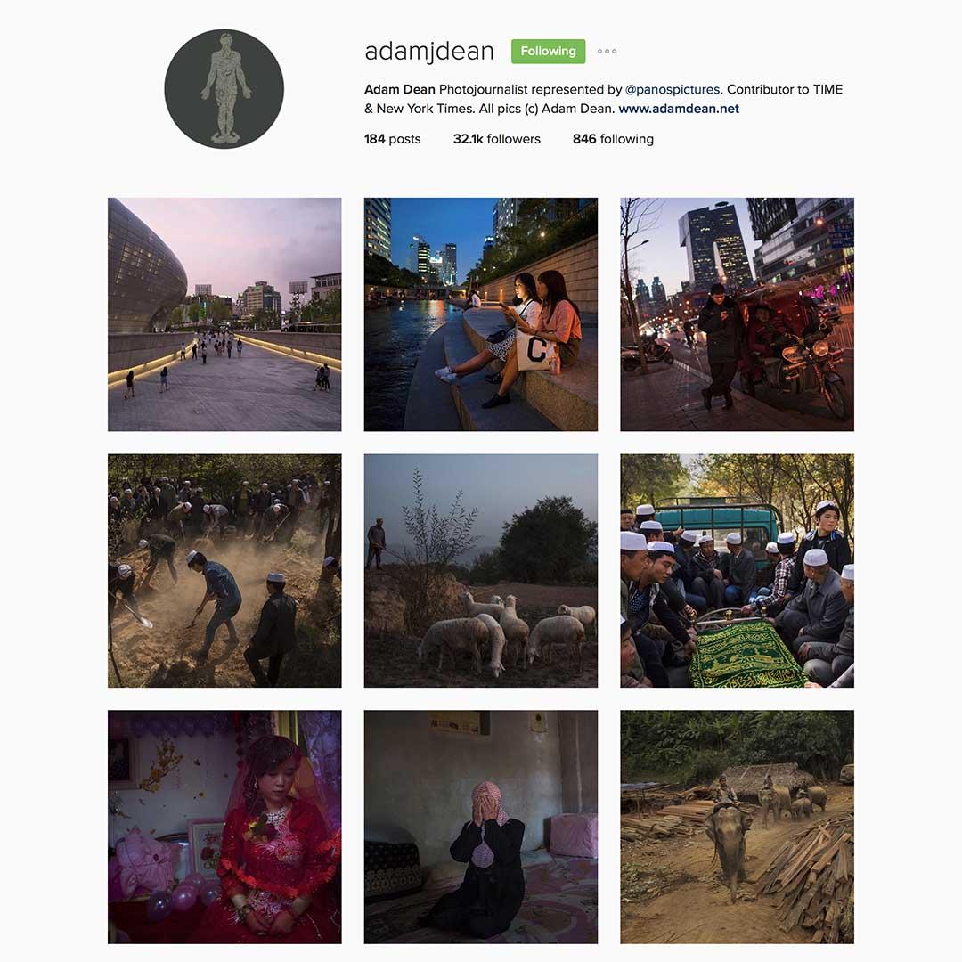 Adam Dean (@adamjdean),駐北京自由攝影師,Panos圖片社成員,《紐約時報》特約攝影師,曾獲多個國際新聞攝影比賽獎項。