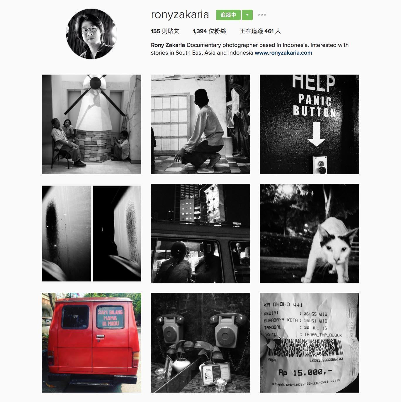Rony Zakaria(@ronyzakaria),印尼攝影師,曾在菲律賓亞洲新聞中心學習,並曾獲得NPPA 最佳新聞攝影獎。
