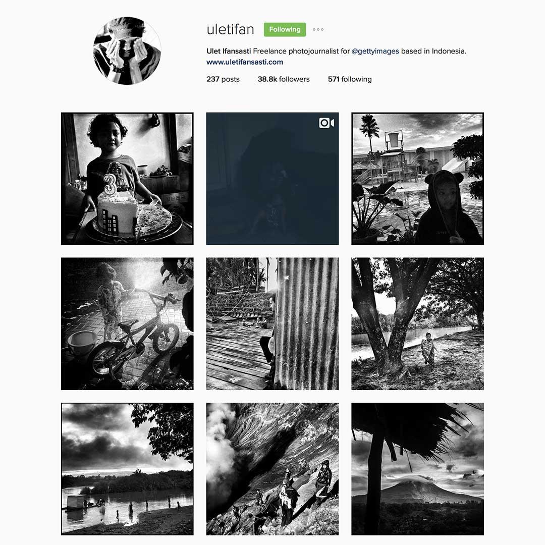 Ulet Ifansasti (@uletifan),駐印尼自由攝影師,Getty圖片社特約合作攝影師,照片廣泛被國際媒體使用。