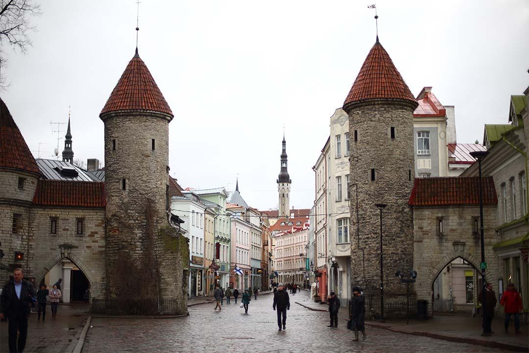 政府推出eresidency計畫。圖為愛沙尼亞首都塔林。