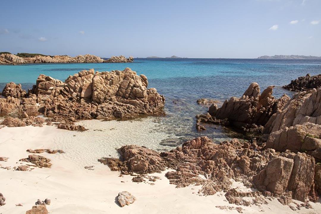 意大利的Budelli島。