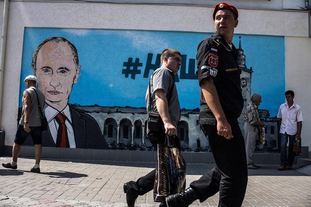 俄羅總統普京斯指烏克蘭企圖派人潛入克里米亞發動恐怖襲擊。
