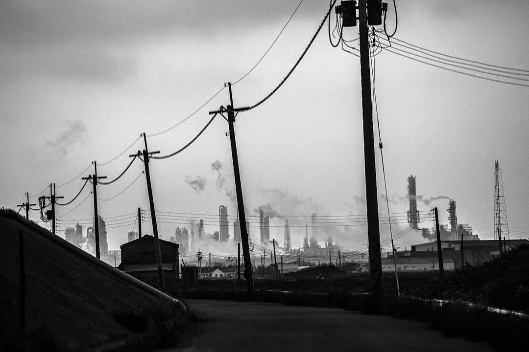 雲林縣六輕石化工業區。