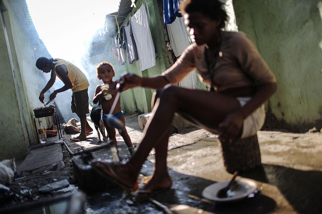 超過140萬人居住在里約746座貧民窟內。