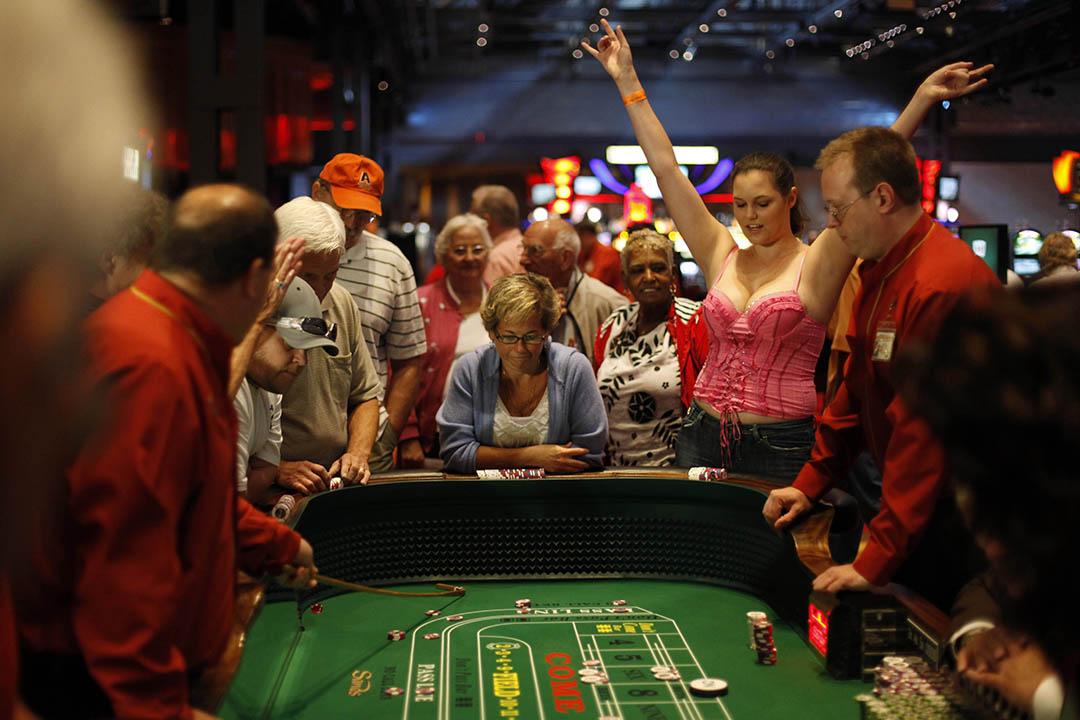 美國一間賭場。