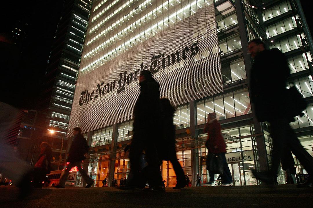紐約時報總部。