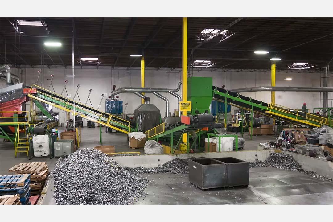 美國電子垃圾處理公司ERI。
