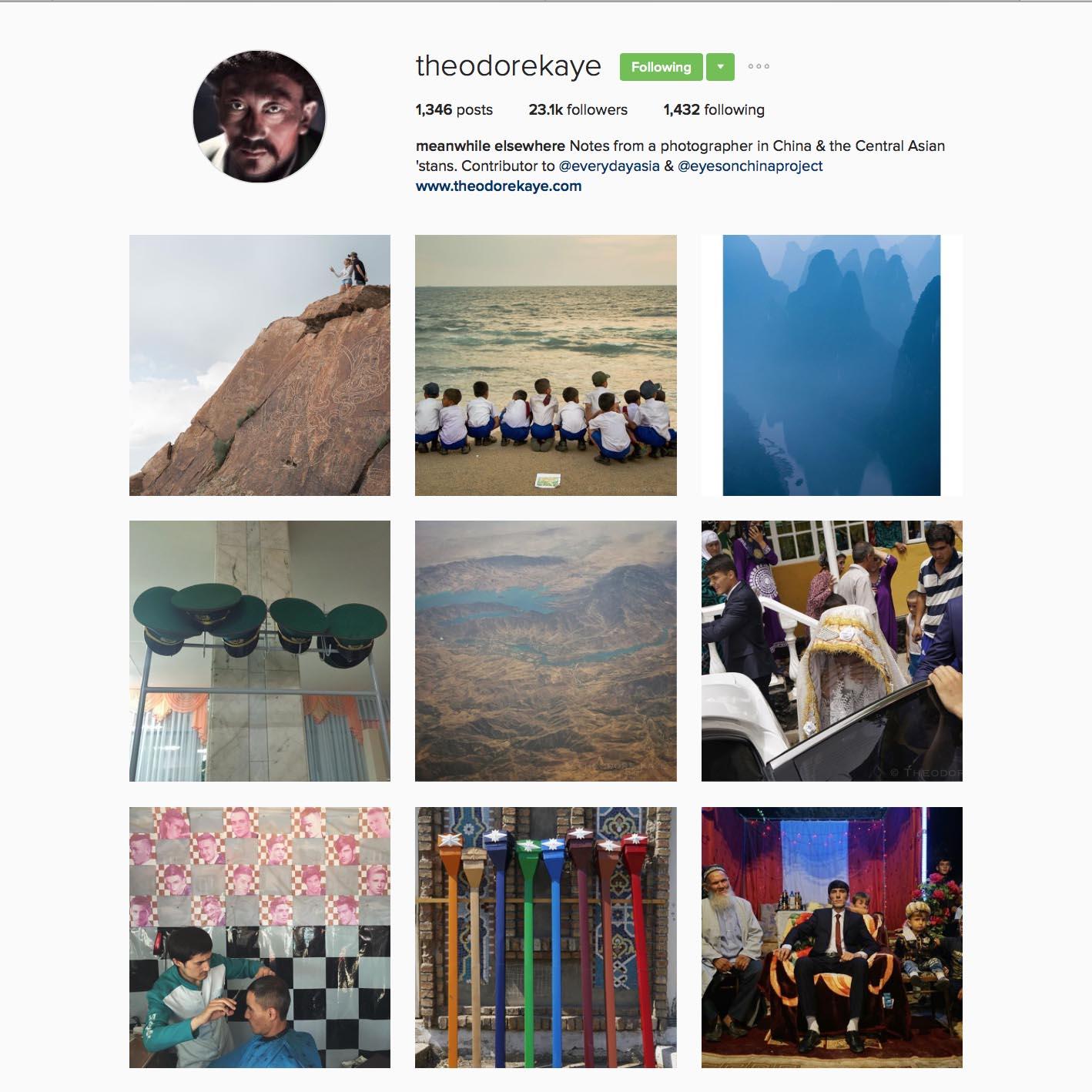 Theodore Kaye(@theodorekaye),在中國與中亞地區從事攝影工作,常拍攝關於社會、政治、時事等議題。