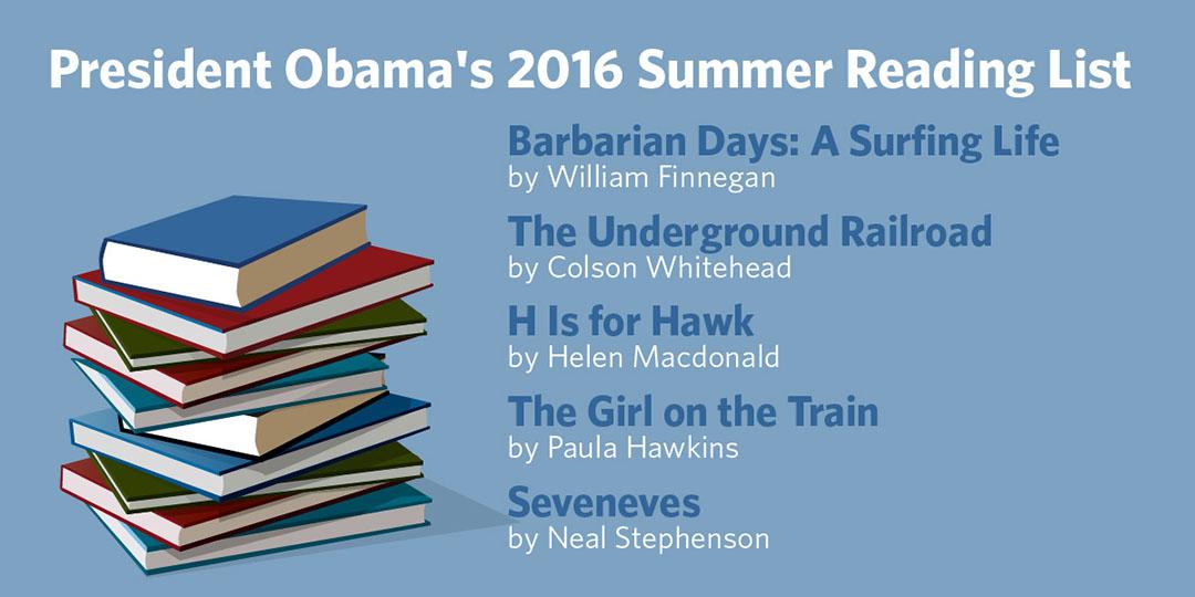 奧巴馬連續第二年通過白宮官方博客分享自己的夏日書單。