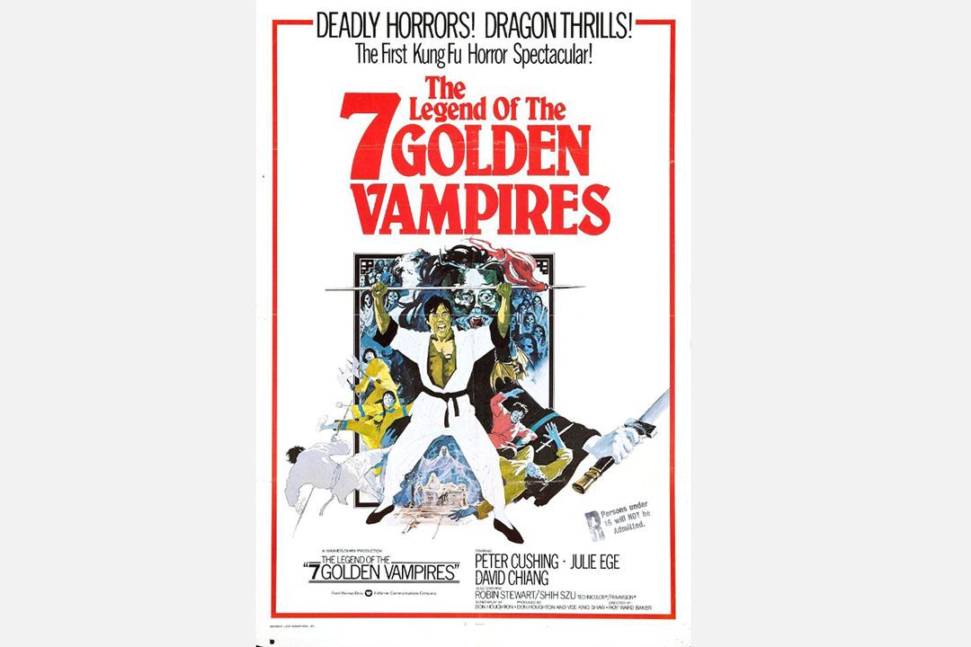 The Legend of the 7 Golden Vampires.