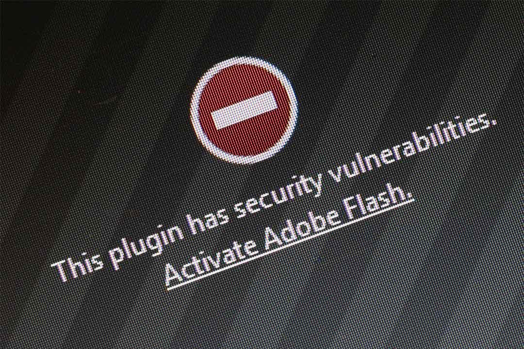 Chrome瀏覽器下月起開始屏蔽 Flash。圖為瀏覽器屏蔽Flash插件。