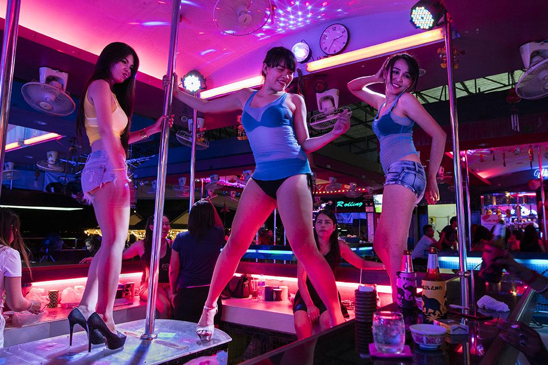 泰國一間酒吧。