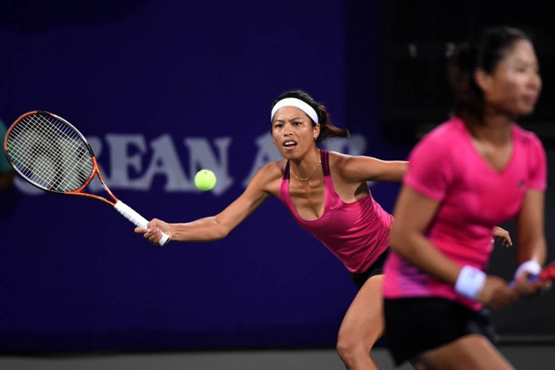 台灣網球員謝淑薇。