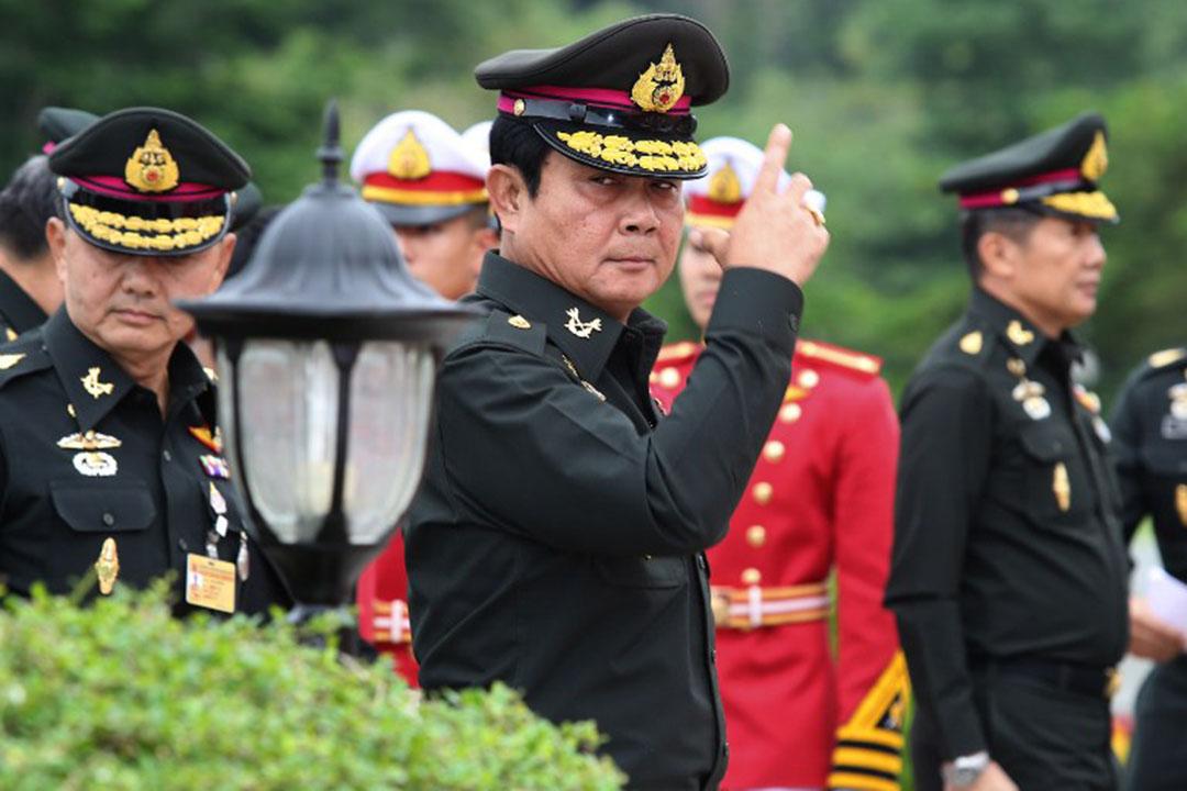泰國軍政府總理巴育。