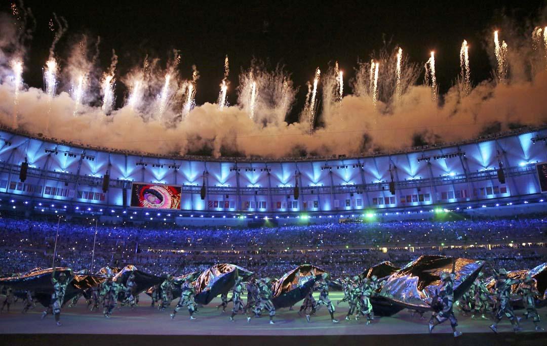 2016年里約奧運開幕典禮。