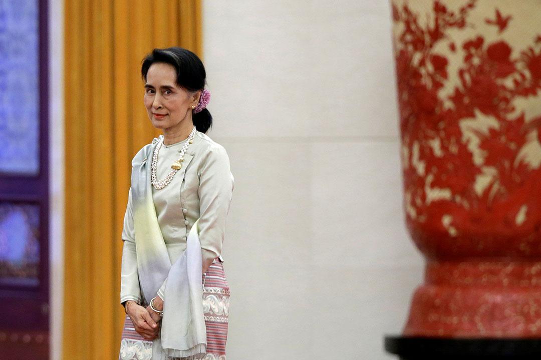 緬甸國務資政兼外長昂山素姬。
