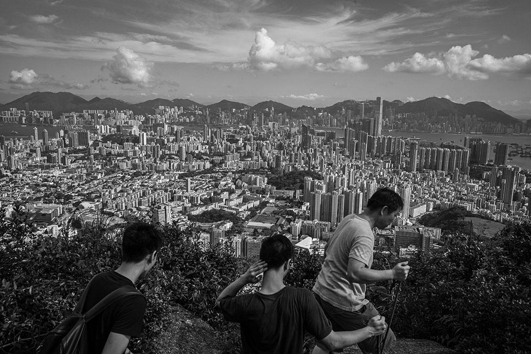 香港筆架山。