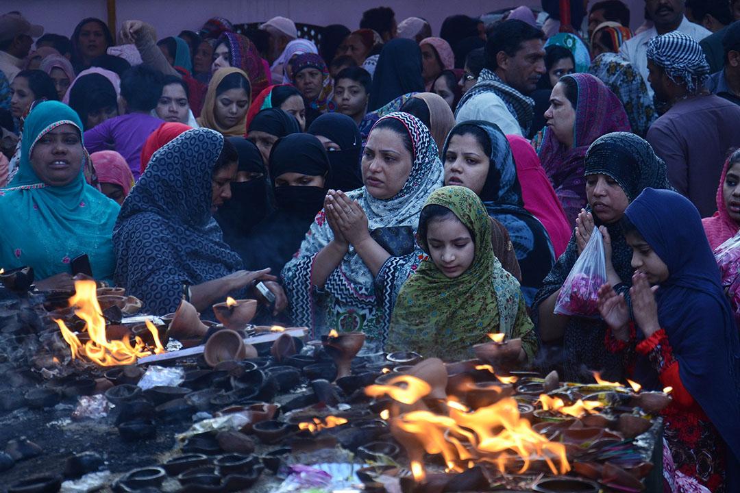 巴基斯坦女性穆斯林。