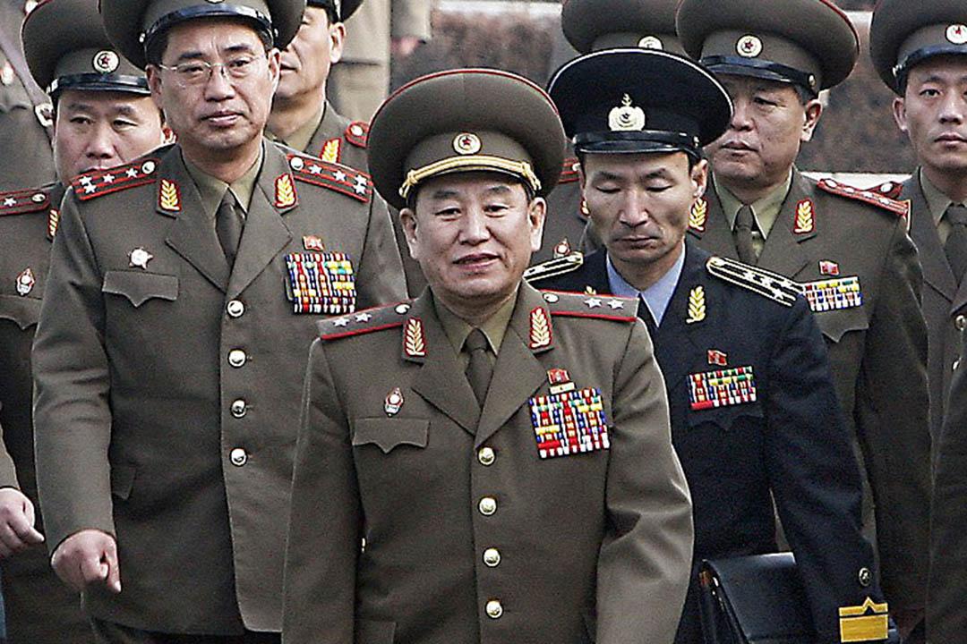 朝鮮統戰部部長金永哲(Kim Yong-chol)。
