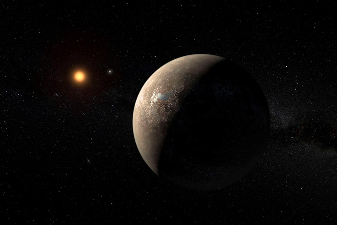 Proxima b 行星位於地球約4光年以外的外太空。