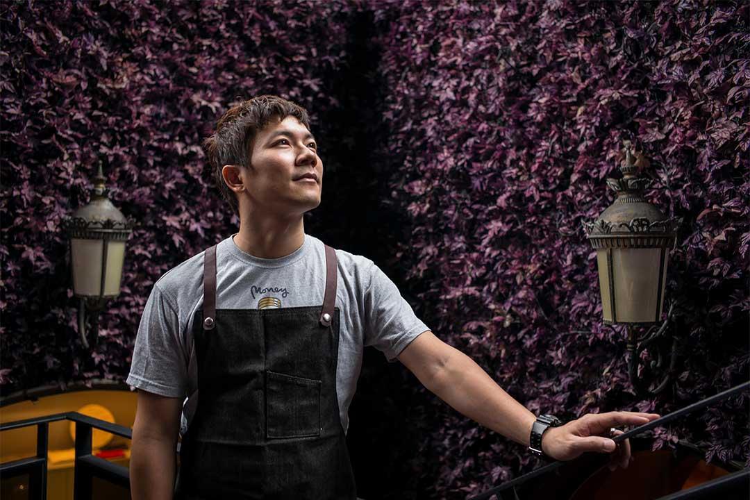 世界咖啡師大賽冠軍吳則霖。