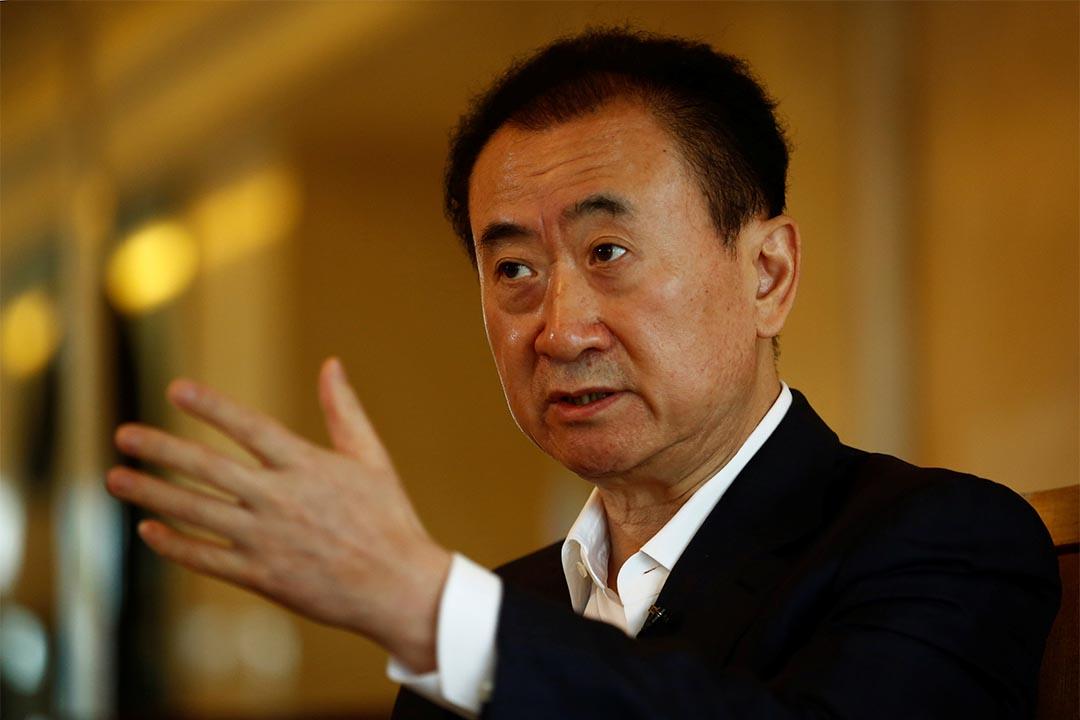 2016年8月23日,王健林在北京接受媒體訪問。
