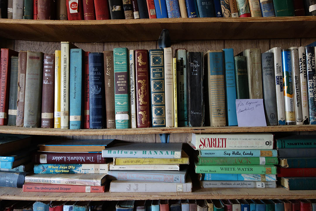 以 Rudy 名字命名的小圖書館
