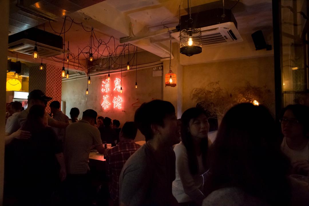以舊香港為模式的精釀啤酒酒吧何蘭正。