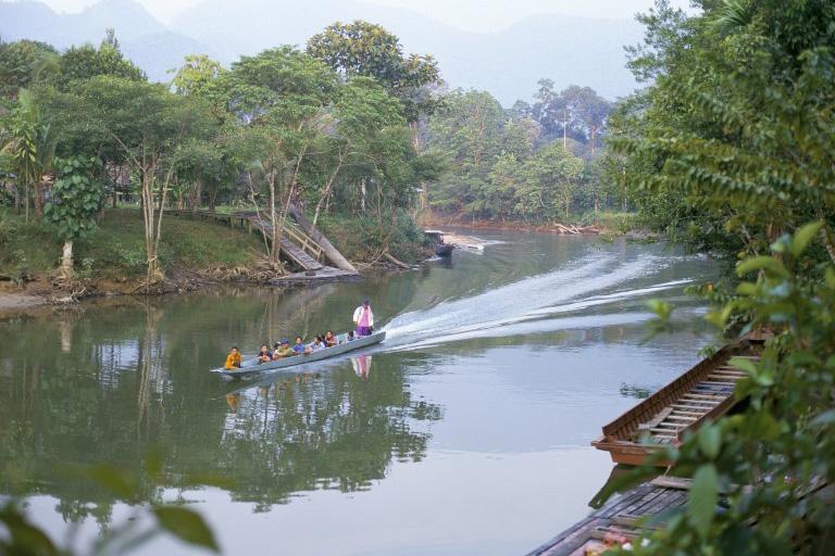 圖為砂勞越姆魯國家公園。