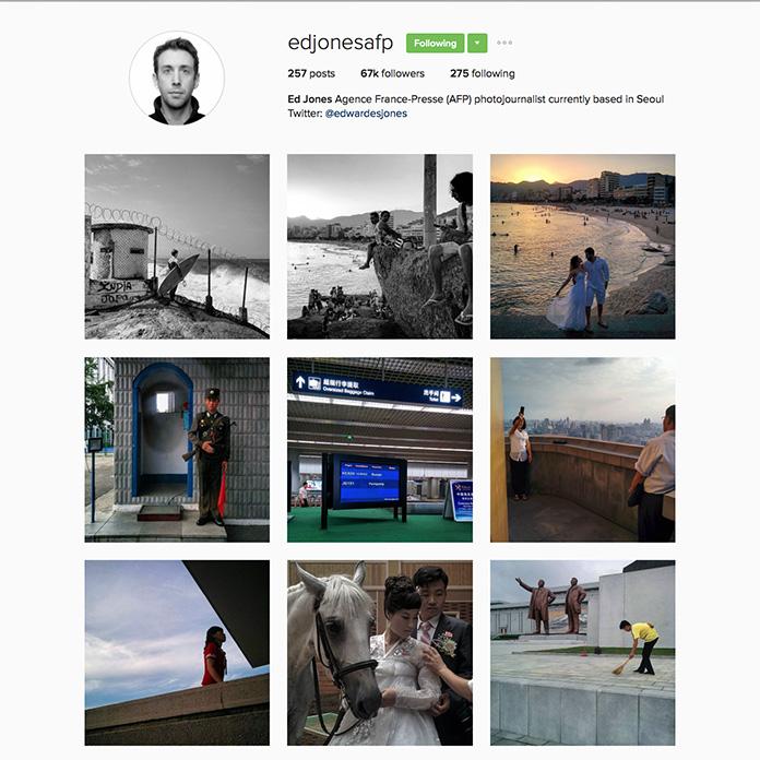Ed Jones(@edjonesafp),法新社 (AFP) 駐首爾攝影記者。