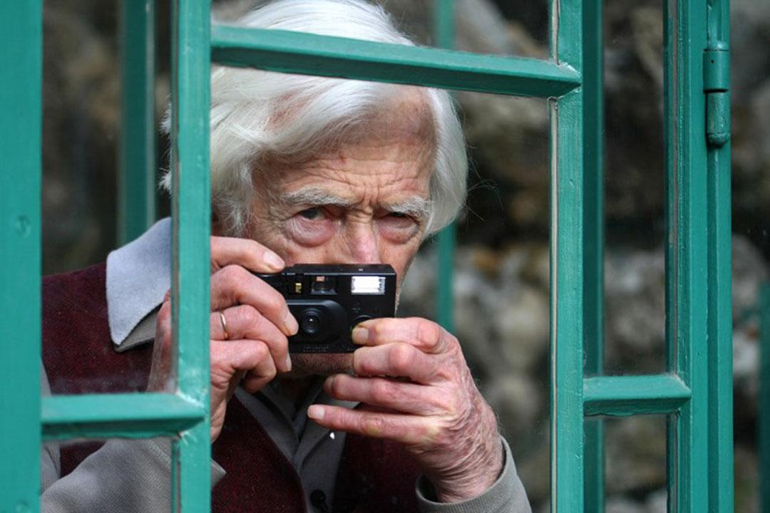 法國攝影師馬克·呂布(Marc Riboud)。