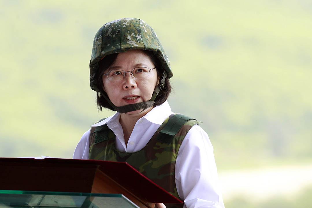 台灣總統蔡英文。