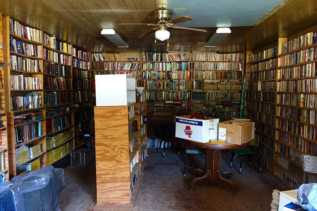 以 Rudy 名字命名的小圖書館。