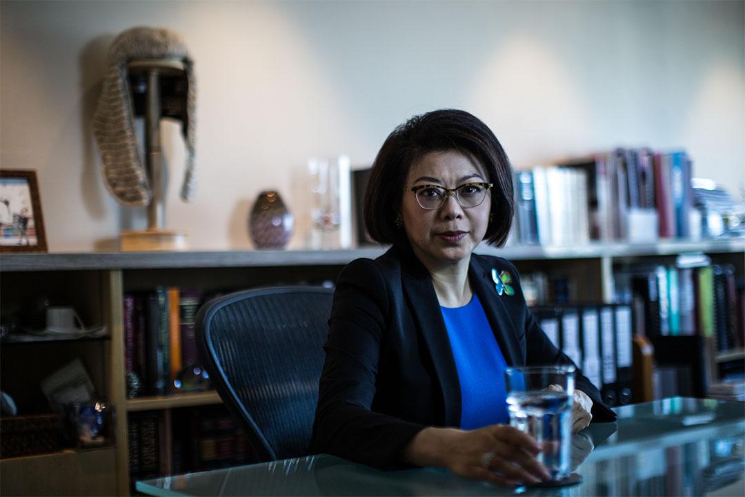 大律師公會主席譚允芝。