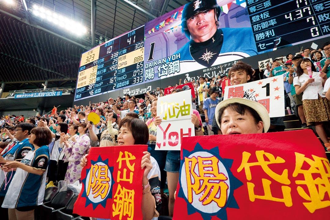 火腿隊在12年前,從東京出走到北海道,竟然由戰績墊底一路進步到日本冠軍。
