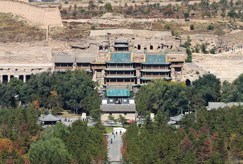 山西省大同市雲岡石窟,2001年12月14日被聯合國教科文組織列入世界遺產名錄。