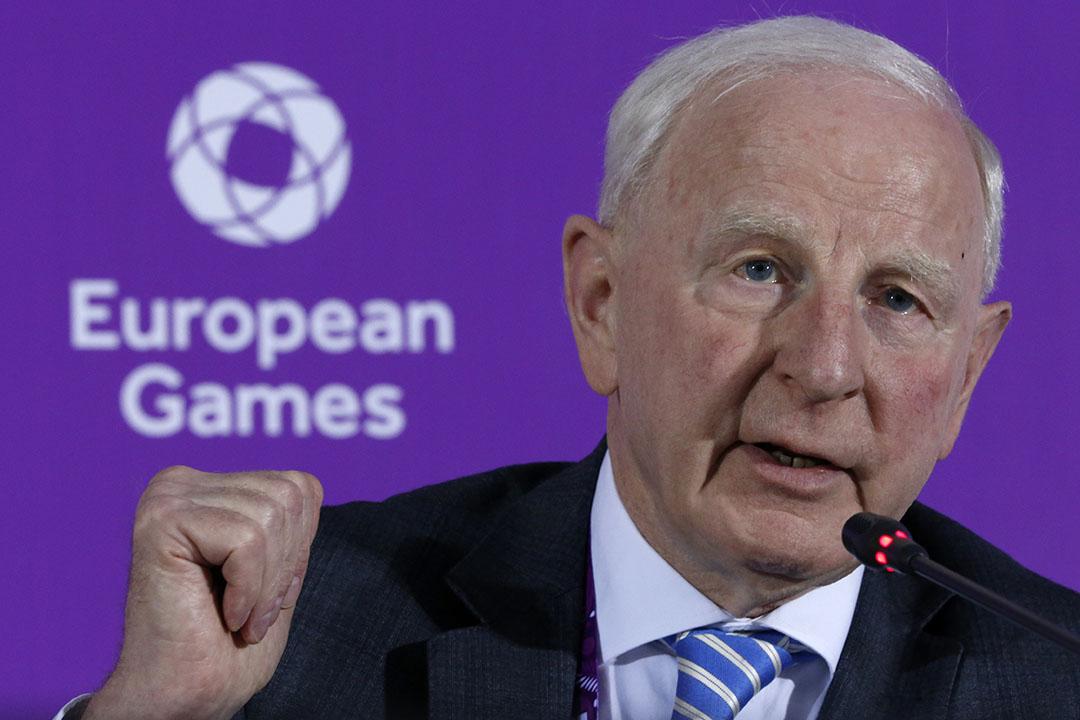歐洲奧委會主席帕特里克•希基(Patrick Hickey)。