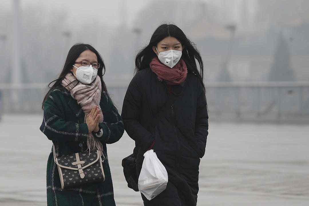 世界衛生組織發布數據,中國位居室外空氣污染國家榜首。