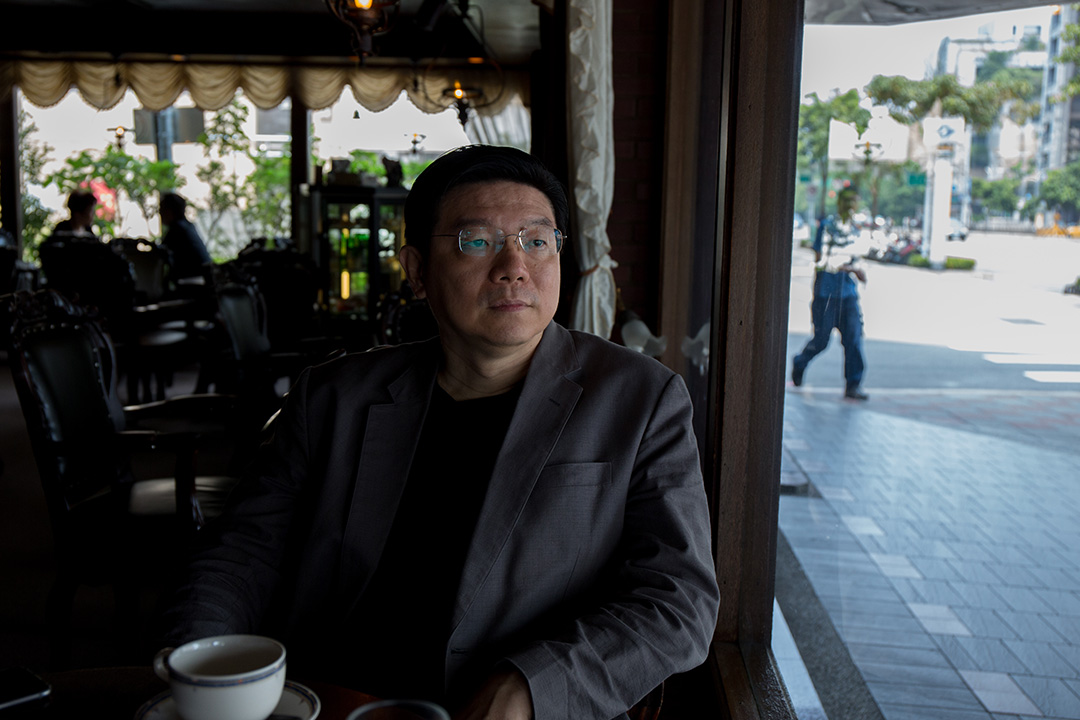 《鏡週刊》董事長裴偉。