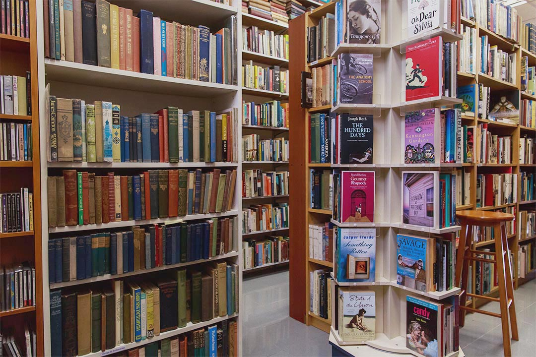 英文書店「Imprint」。