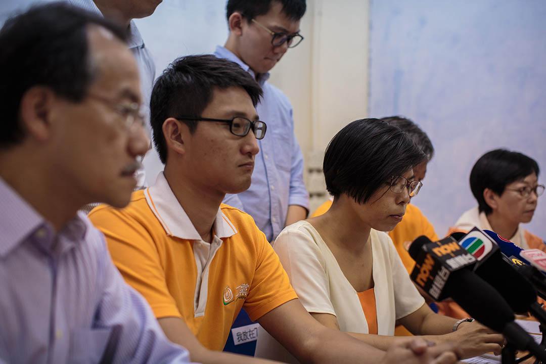 2016年9月2日,工黨主席胡穗珊宣佈退選。